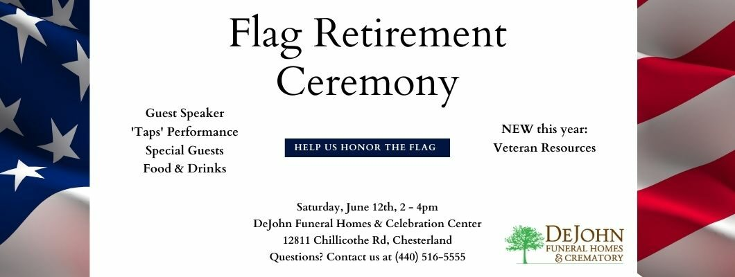 Flag Retirement & Remembrance Ceremony