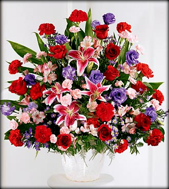 Basket & Pedestal Arrangements