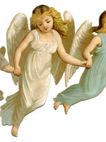 AngelChildrenVintage GraphicsFairy1