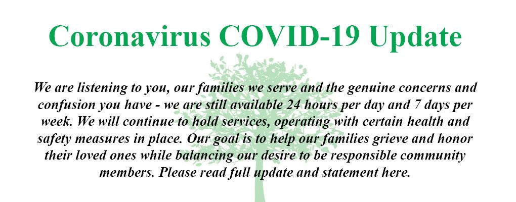 Response to Coronavirus COVID-19