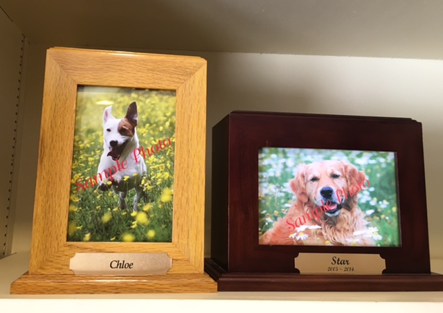 Pet Photo Urn 4x6 Frame Dejohn Funeral Homes Crematory