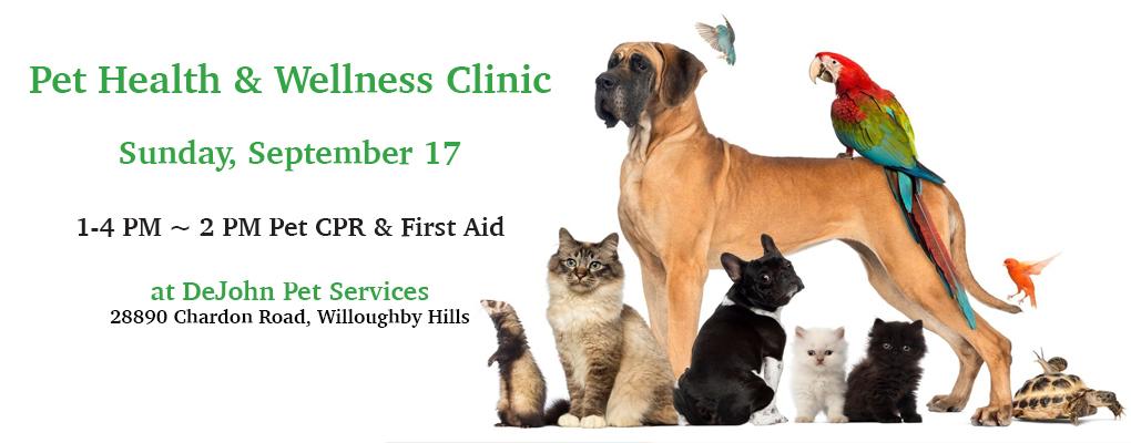 Pet Health & Wellness Clinic