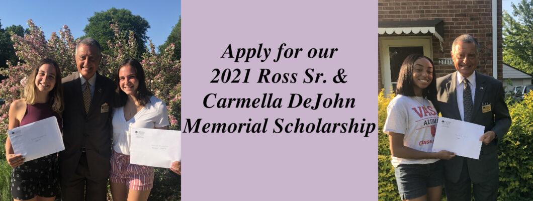 Ross & Carmella DeJohn Memorial Scholarship