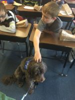 Magic & Coco at Career Day in Eastlake
