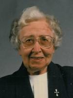 Sr. Ann Gertrude OSU e1440099027968