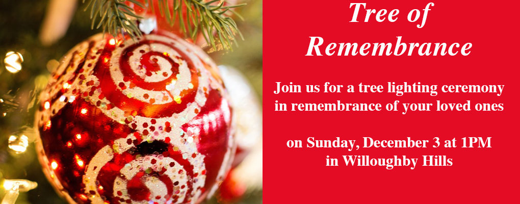 Tree of Remembrance Ceremony