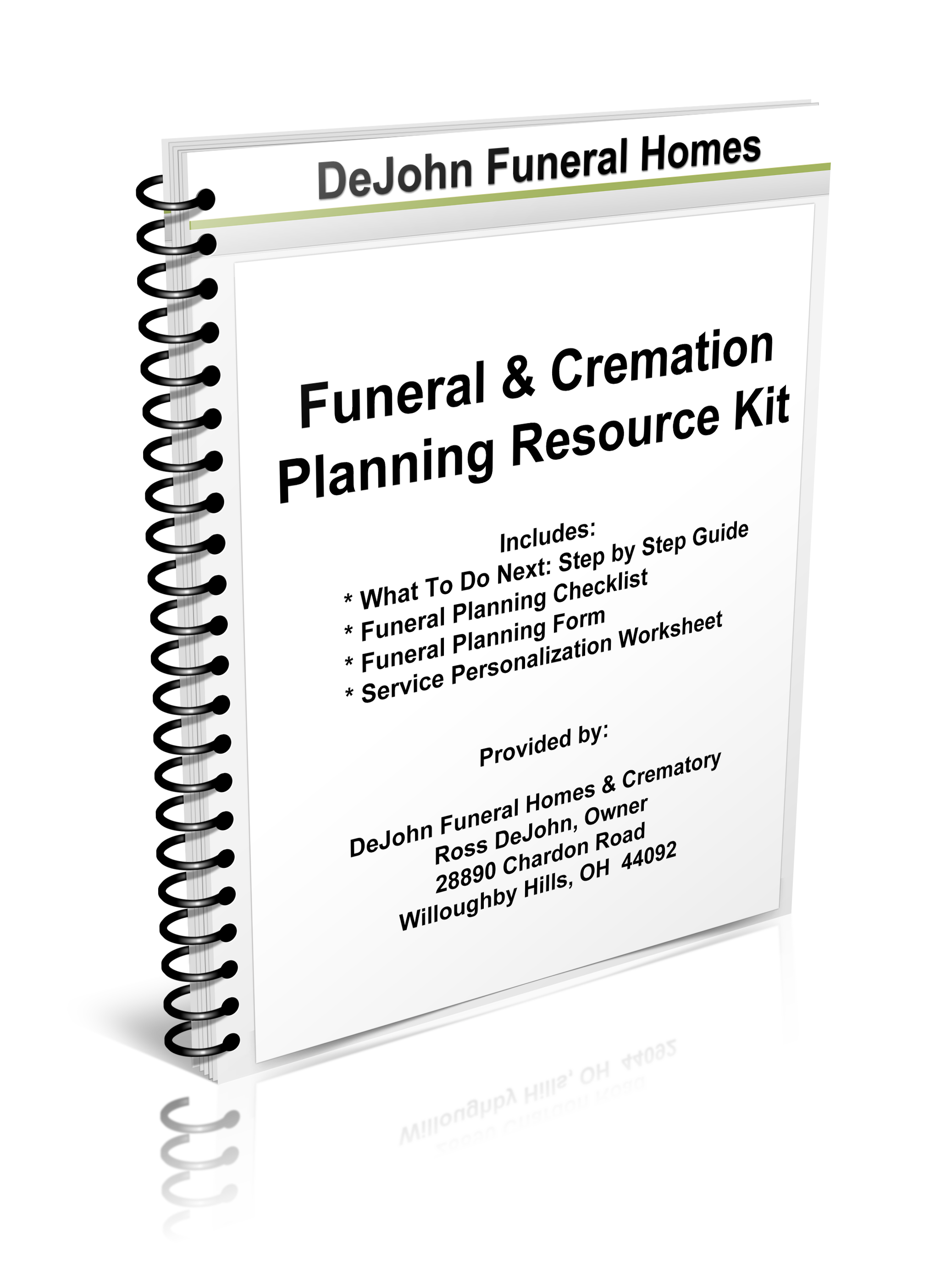 download your resource kit dejohn funeral homes crematory