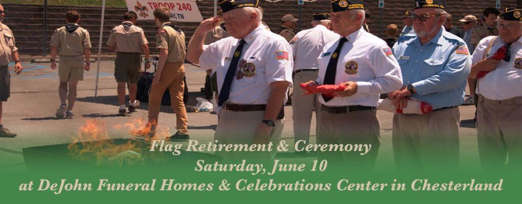 Flag Retirement & Remembrance Ceremony