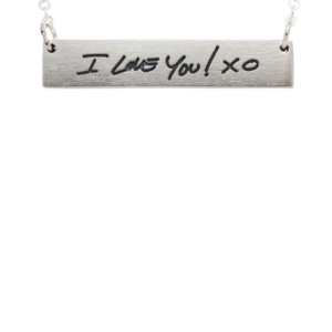 Signature Engraved Necklace